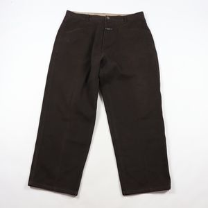 Vtg 90s Girbaud Mens 38x30 Spell Out Jeans Brown